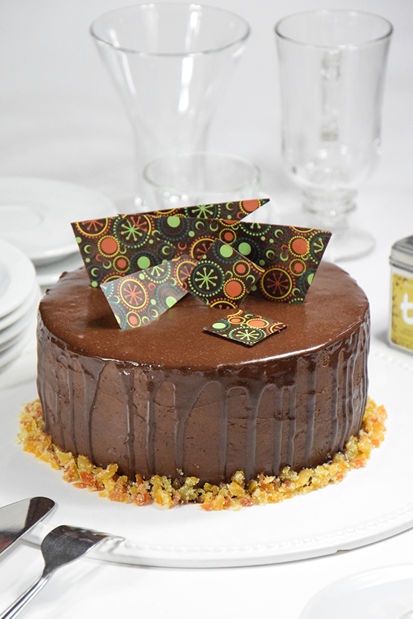 Torta Chocolate naranja